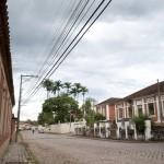 Avenida Comendador Pedro Morganti, a via principal do bairro - Foto Alessandro Maschio