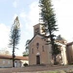 Capela de São Pedro é réplica de igreja da Toscana - Foto Alessandro Maschio